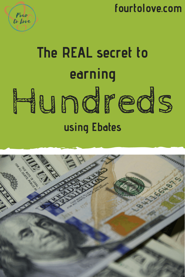 The real secret to earning hundreds using Ebates