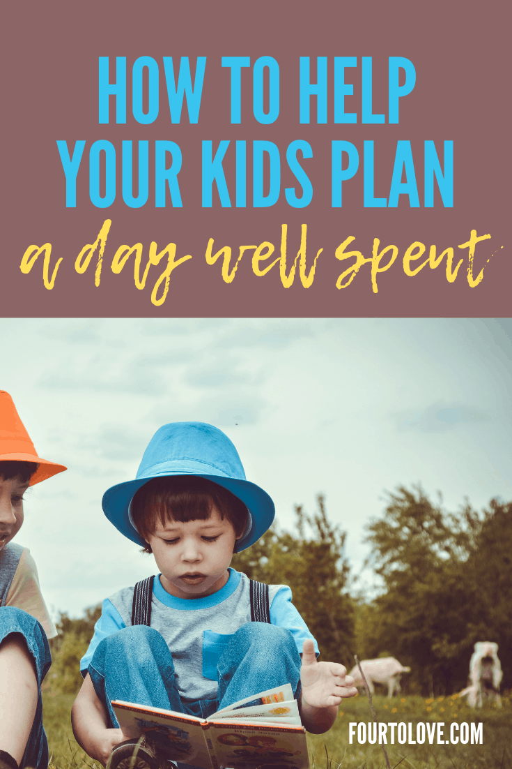Plan a day well spent with this checklist for kids about how to keep busy at home.