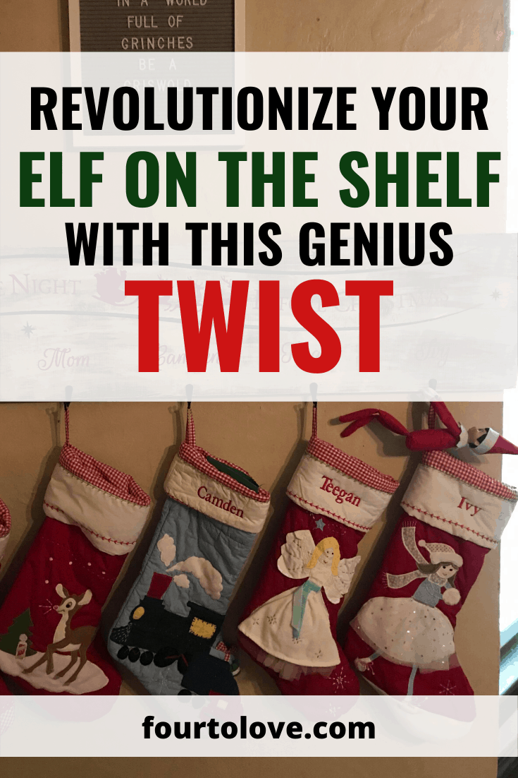 Revolutionize Your Elf on the Shelf with this Genius Twist