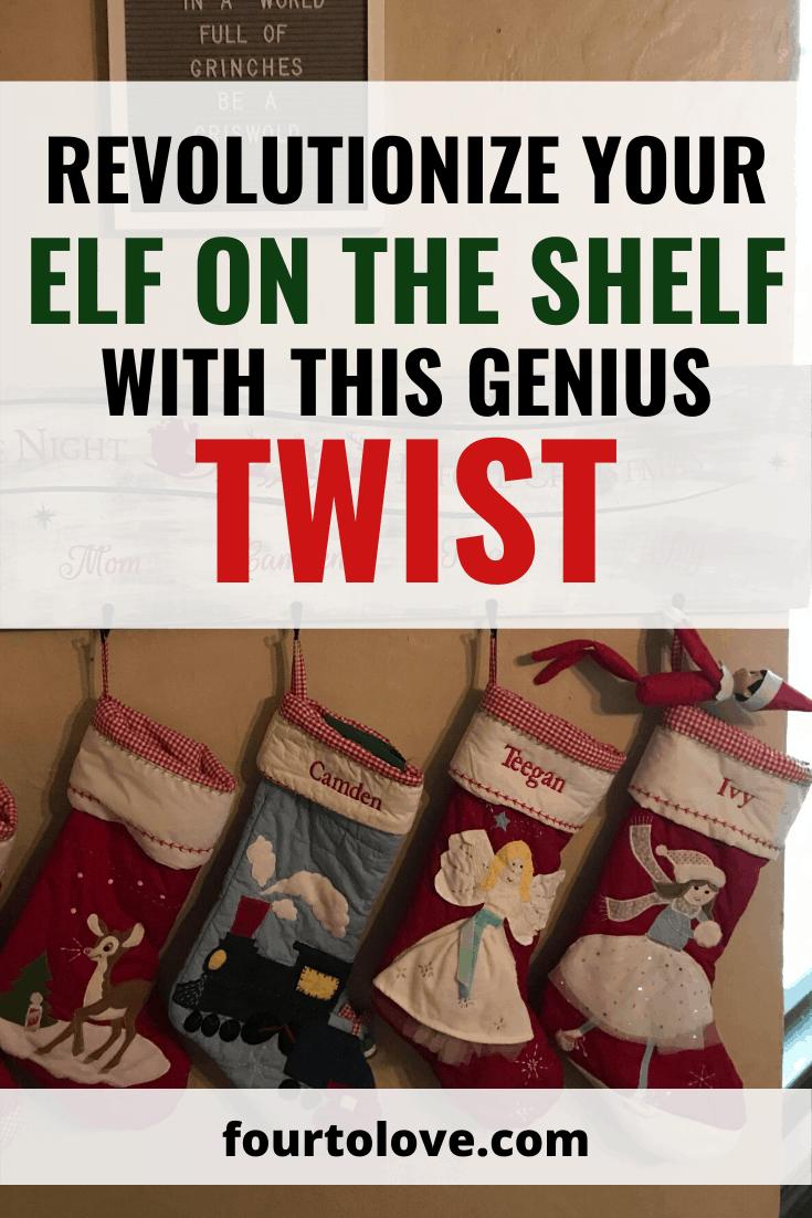 Revolutionize Your Elf on the Shelf with this Genius Twist