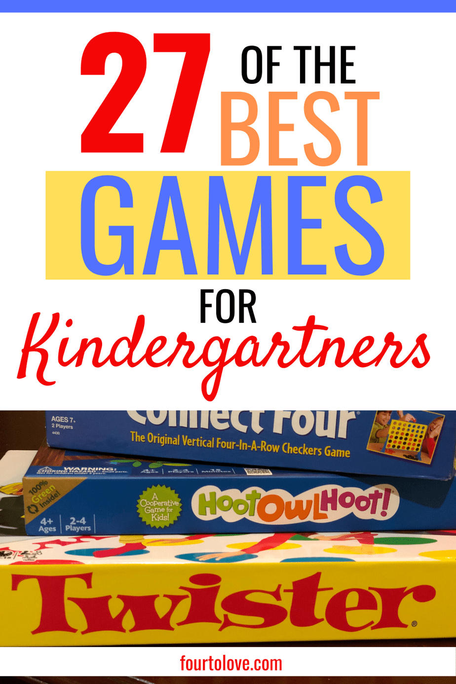 27 of the best games for kindergartners
