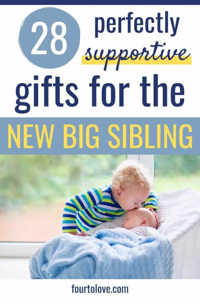 28 Perfectly Supportive New Baby Gifts For Siblings Four To Love